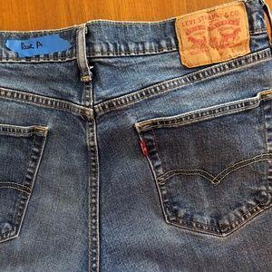 Mens  Levi's 314 Jeans ( Pair A )